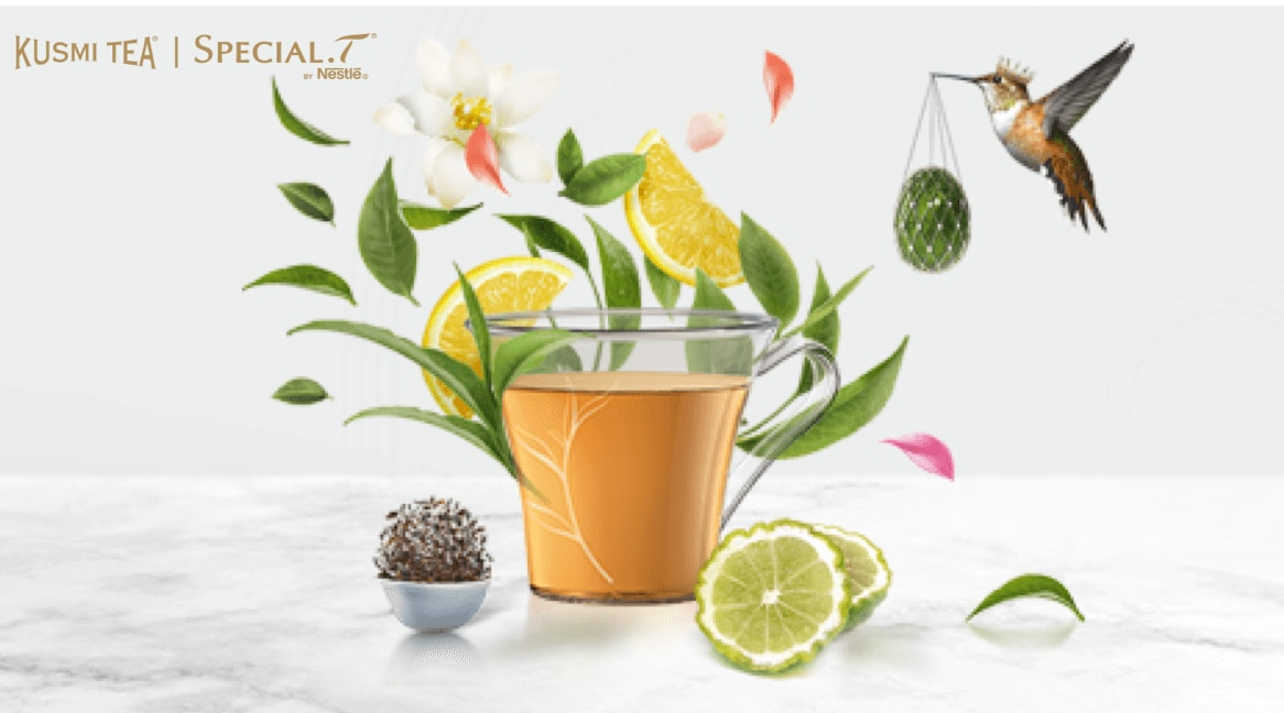 KUSMI TEA x SPECIAL.T collectie